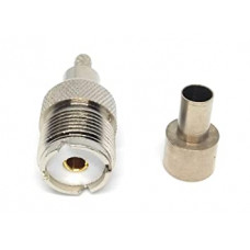 Connector SO239 - UHF Female Crimp for LMR 200, RG58, LMR 200