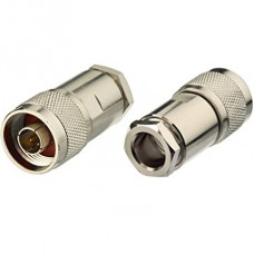 Connector N Male Clamp for RG213, HLF 400, LMR 400