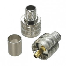 Connector PL259 - UHF Male Crimp for LMR 400, RG213, LMR 400