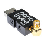 Nooelec NESDR Nano 3: Tiny RTL-SDR USB Set w/ 0.5PPM TCXO, SMA Input, Aluminum Enclosure and Custom Heatsink