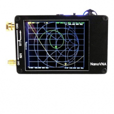NanoVNA Vector Network Analyzer 50KHz-900MHz Digital Touching Screen Shortwave MF HF VHF UHF Antenna Analyzer with Battery